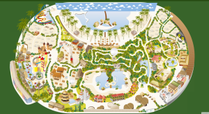 tropical islands - mapa